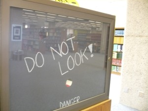 Banned Books Week Exhibit, University of Arizona Main Library